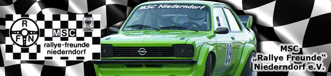 """MSC """"Rallye Freunde"""" Niederndorf e.V."""